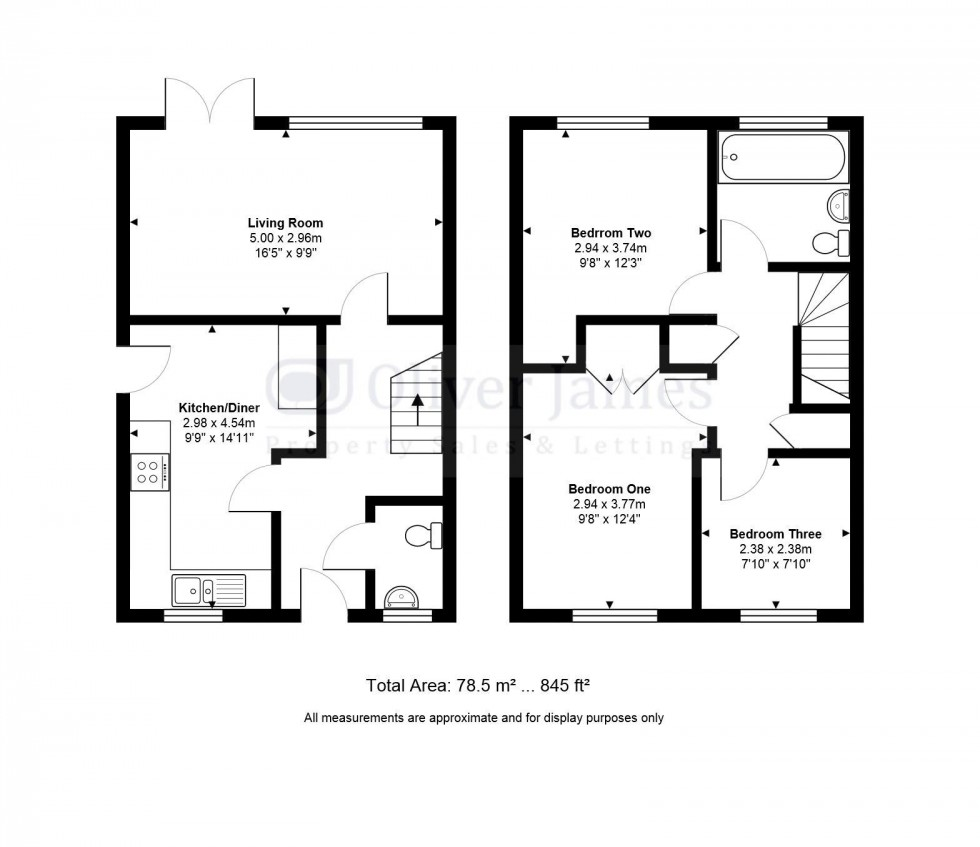 Floorplan for Mandeville Road, Brampton